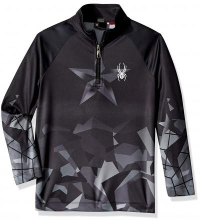 Spyder Boys Limitless Zip T Neck