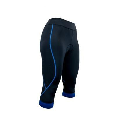Pedal Pusher Womens Padded Cycling
