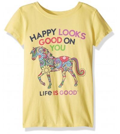 Life Good Girls Crusher T Shirt