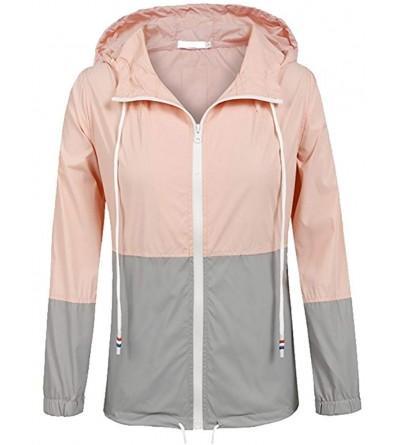 Vanbuy Lightweight Windbreaker Outdoor Raincoat