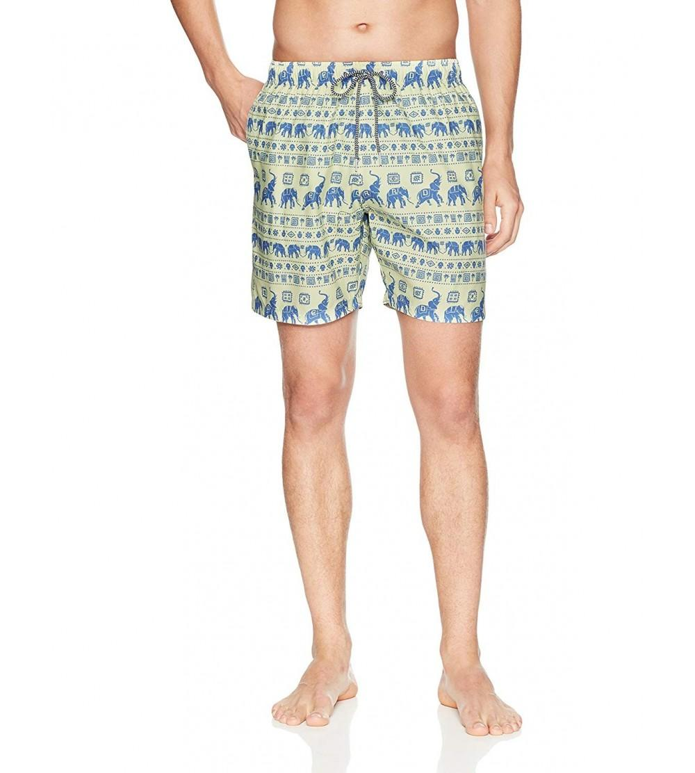 Boardies Mens Patterned Mid Length Shorts