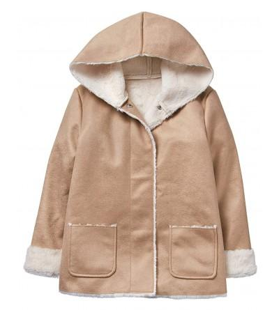 Crazy Little Sleeve Sherpa Hooded