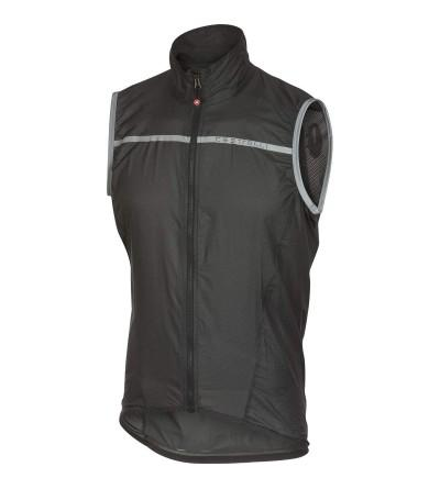 Castelli Superleggera Vest Anthracite Yellow