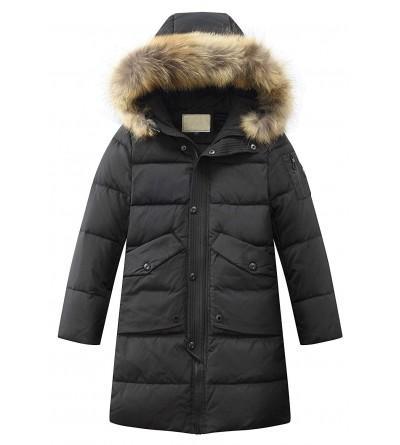 Toddler Hooded Winter Puffer Overcoat