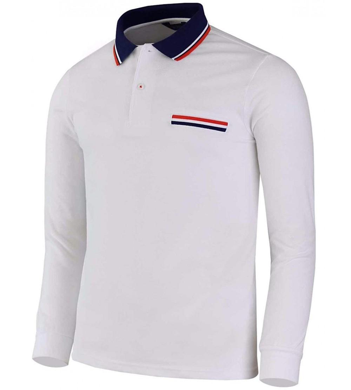 BCPOLO Sleeve Pique Cotton Shirts