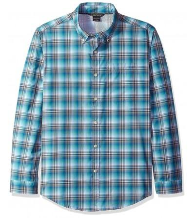 ExOfficio Mens Leman Plaid Sleeve