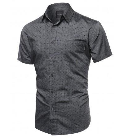 Highend quality Buttondown Tshirts Polkadots